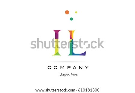 Vector Letter India Flag Design Matches Stock Vector