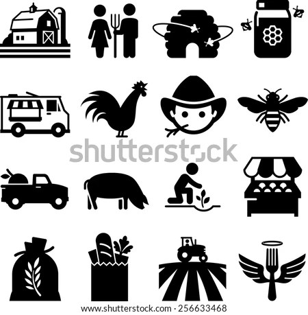 Farmer Icon Stock Images, Royalty-Free Images & Vectors