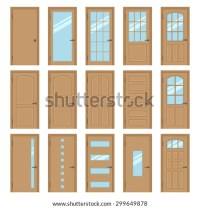 Different Types Doors Stock Images, Royalty