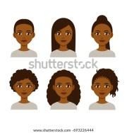 vector illustration black women