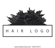 afro silhouette stock royalty-free