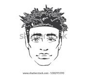 dreadlocks stock royalty-free