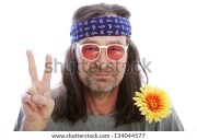 hippie stock royalty-free
