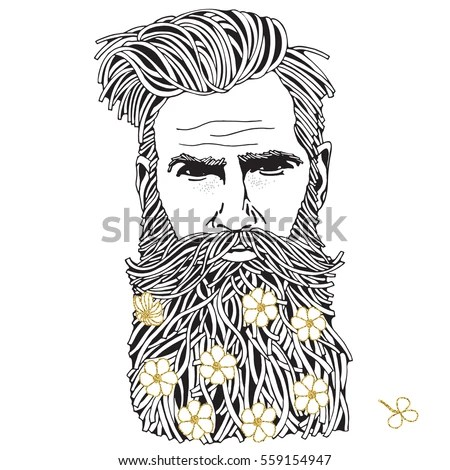 Beard Vector Stock Images, Royalty-Free Images & Vectors