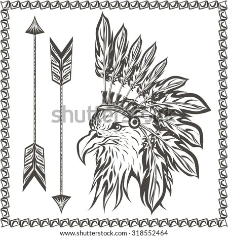 Tribal Eagle Stock Images, Royalty-Free Images & Vectors
