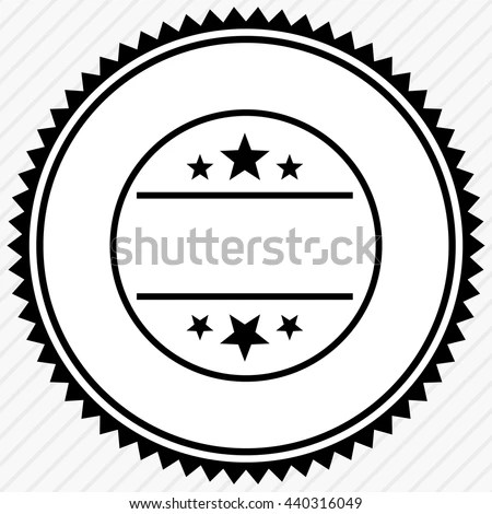 Badge Seal Empty Space Button Label Stock Vector 440316049