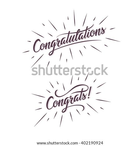 Congratulations Banner Stock Photos, Images, & Pictures