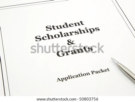 College Scholarship Grant Application Packet Pen Stock