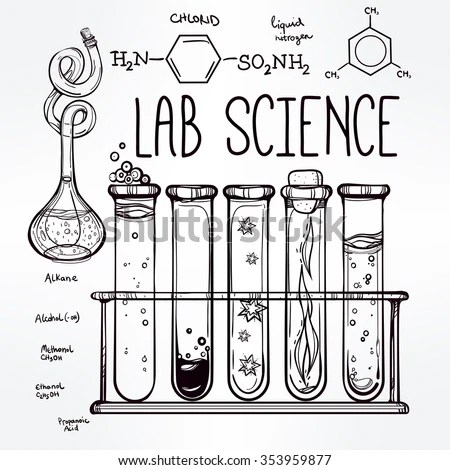 Test Tube Sketch Stock Images, Royalty-Free Images