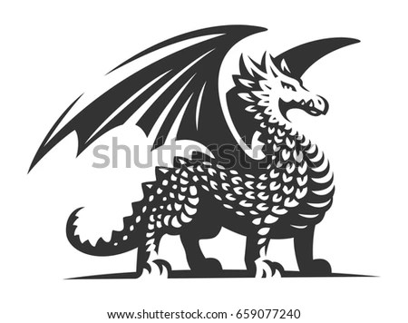 Dragons Stock Images, Royalty-Free Images & Vectors