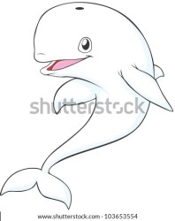 whale beluga cartoon happy clipart whales vector cartoons shutterstock tattoo illustrations coloring clipground cool colouring getcolorings portfolio