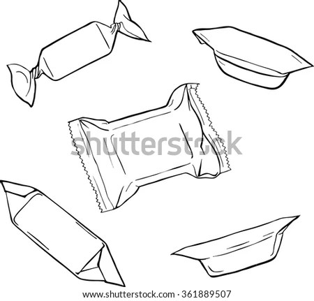 Candy Wrapper Stock Images, Royalty-Free Images & Vectors