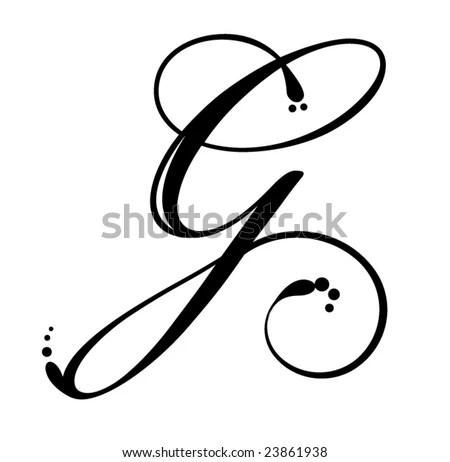 Cursive Alphabet Letters Stock Photos, Images, & Pictures