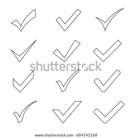 Test Vector Icon Isolated Concept Exam Stock Vector