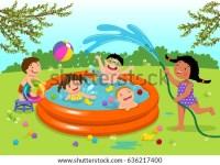 Kids Swimming In Pool Cartoon   www.pixshark.com - Images ...