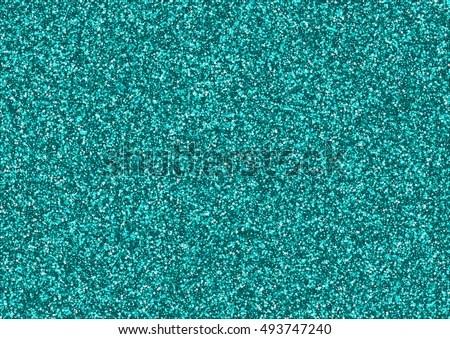 Falling Glitter Confetti Wallpapers Teal Green Turquoise Aqua Glitter Sparkle Stock Photo