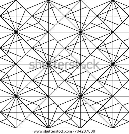 Abstract Seamless Grid Texture Background Vector Stock