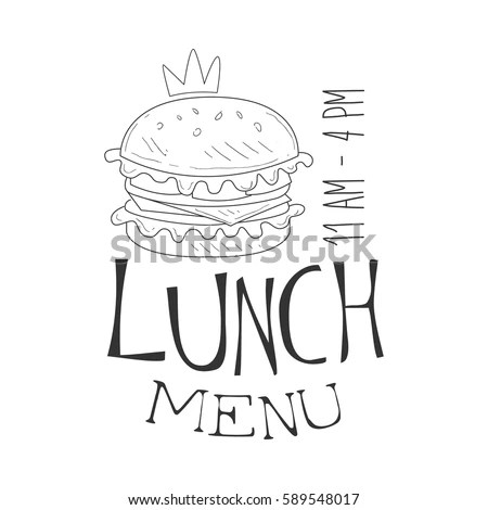 Open For Lunch Sign Stock Images, Royalty-Free Images