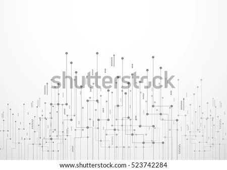 Information Technology Background Stock Images, Royalty