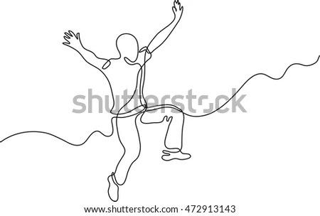 Line Drawing Man Stock Images, Royalty-Free Images