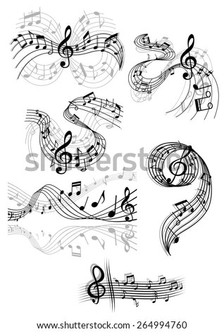 Music Score Stock Images, Royalty-Free Images & Vectors