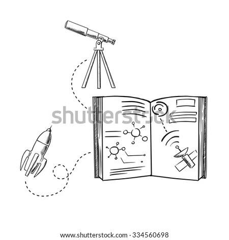 Doodle Style Hammer Anvil Sketch Vector Stock Vector