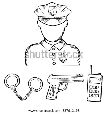 Police Cap Stock Images, Royalty-Free Images & Vectors