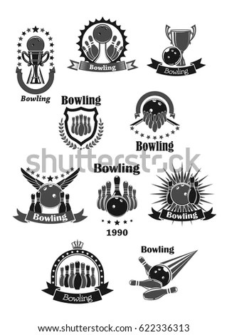 Bowling Trophy Stock Images, Royalty-Free Images & Vectors