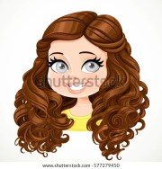cartoon girl stock royalty-free