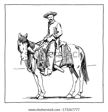 Cowboy Stock Photos, Royalty-Free Images & Vectors