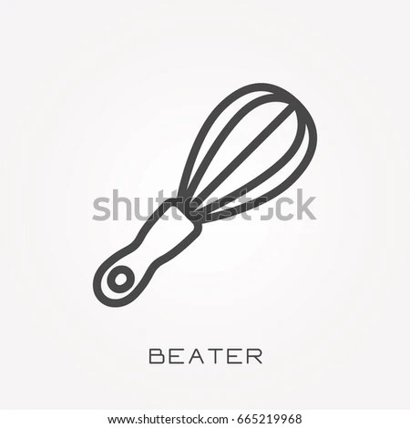 Egg Beater Vector Stock Images, Royalty-Free Images