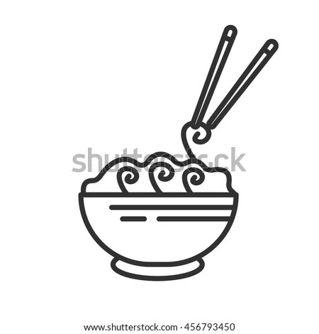 Pasta Different Form Icons Set Assortment Stock Vector