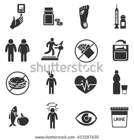 Diabetes Icon Stock Images, Royalty-Free Images & Vectors