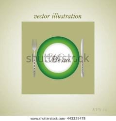 menu icon restaurant italian card shutterstock vector