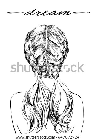 French Plait Stock Images, Royalty-Free Images & Vectors