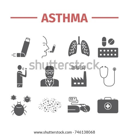 Asthma Stock Images, Royalty-Free Images & Vectors