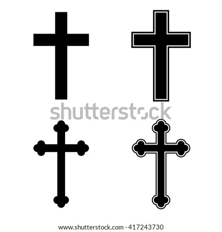 Christian Cross Vector Stock Images, Royalty-Free Images