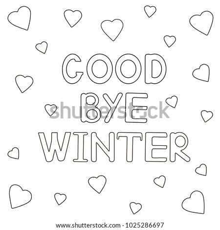 Goodbye Winter Stock Images, Royalty-Free Images & Vectors