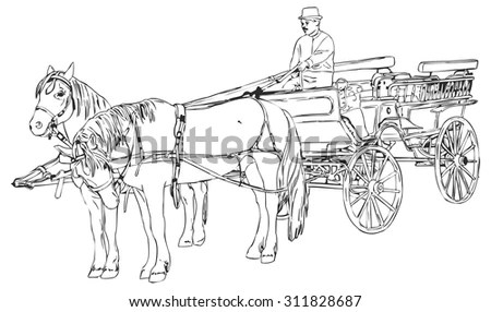 Horse Cart Stock Images, Royalty-Free Images & Vectors