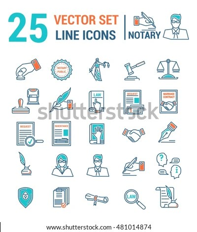Notary icon