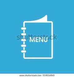 menu icon restaurant vector shutterstock