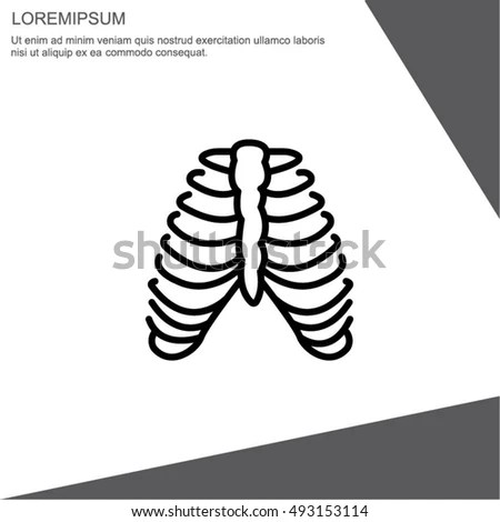 Breastbone Stock Photos, Royalty-Free Images & Vectors