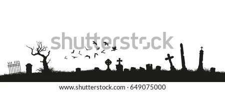 Graveyard Stock Images, Royalty-Free Images & Vectors