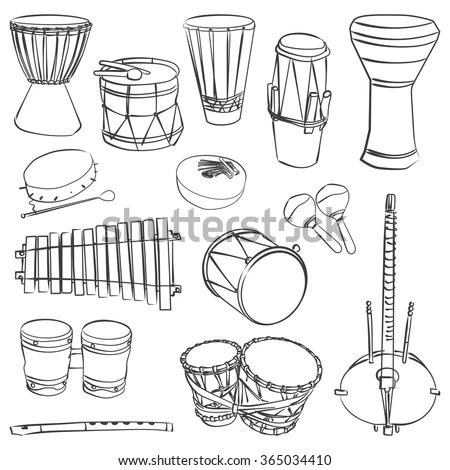 African Music Instrument Stock Images, Royalty-Free Images