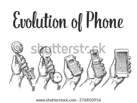 Evolution Communication Devices Classic Modern Mobile