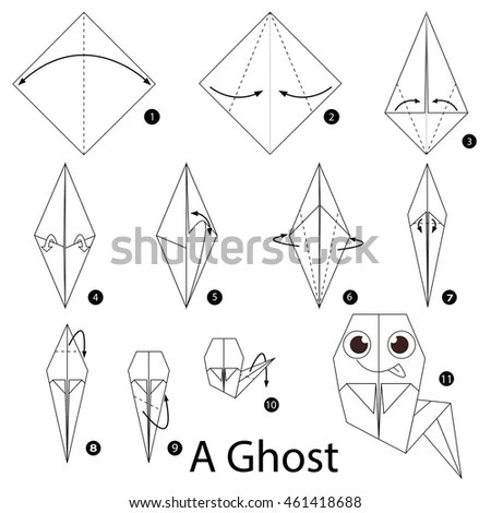Origami Instructions Stock Images, Royalty-Free Images
