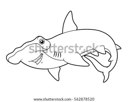 Big Fish Eats Small Conceptual Image Stock Illustration