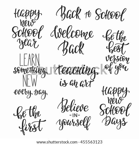 Calligraphy Quote Stock Images, Royalty-Free Images