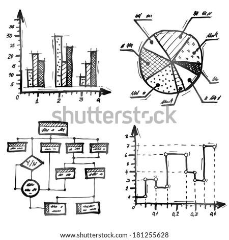 Algorithm Flowchart Stock Vectors & Vector Clip Art