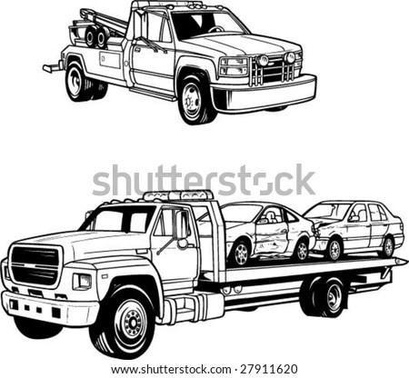 Tow Truck Stock Images, Royalty-Free Images & Vectors